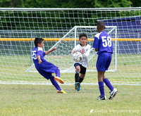 Soccer Match at Rosewood 4.18.15